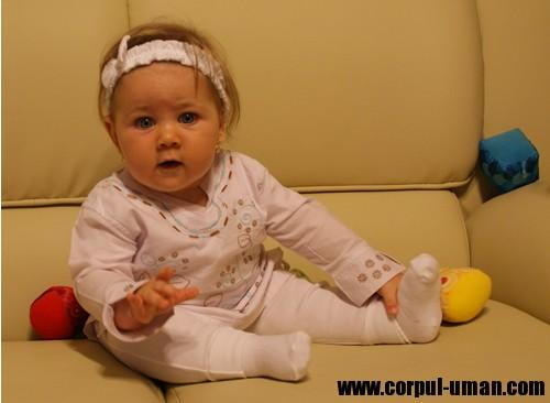greutatea bebelusului la 9 luni