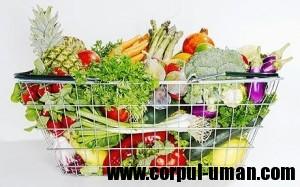 Dieta - alimente recomandate