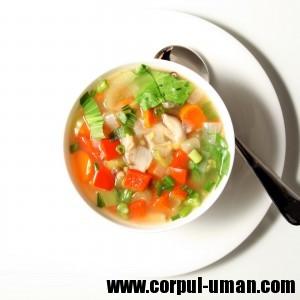 Supa de legume pentru slabit