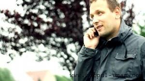 Telefon mobil barbati