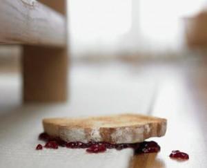Aliment scapat pe jos