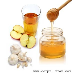 Dieta cu miere si usturoi