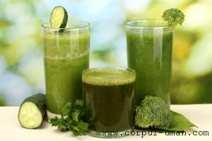 Suc de broccoli pentru slabit