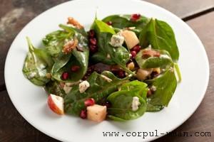 Salate sanatoase de toamna