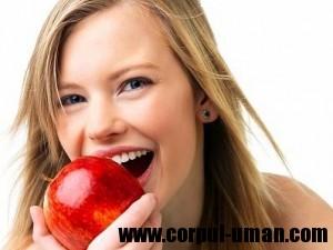 Colesterolul si merele
