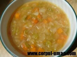 Dieta cu supa de varza - Buna sau nu?