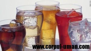 Riscuri bauturi cu zahar