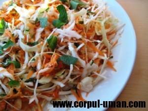Dieta cu salata de cruditati