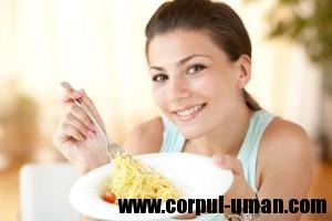 Dieta cu paste