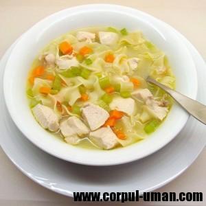 Dieta cu supa de pui